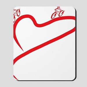 Love Cycling Mousepad