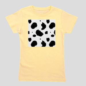 Cow Print Girl's Tee