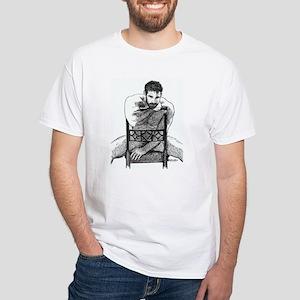 Big Bear White T-Shirt