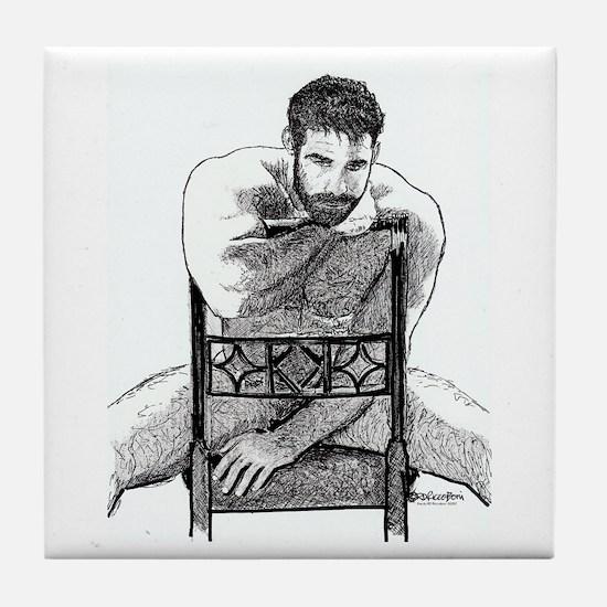Big Bear Tile Coaster