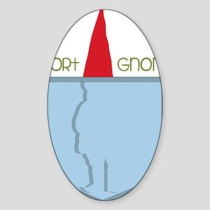 Pocket Gnome Sticker (Oval)