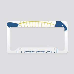 Legalize Lutefisk Fish License Plate Holder