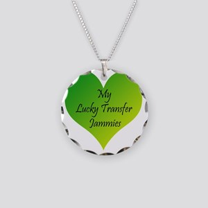 Lucky Transfer Jammies Surro Necklace Circle Charm