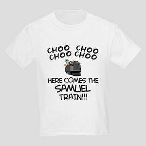 Samuel Train Kids Light T-Shirt