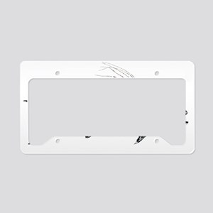 Big Roosterfish T-shirt graph License Plate Holder