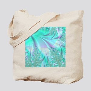 Aqua shower curtain Tote Bag