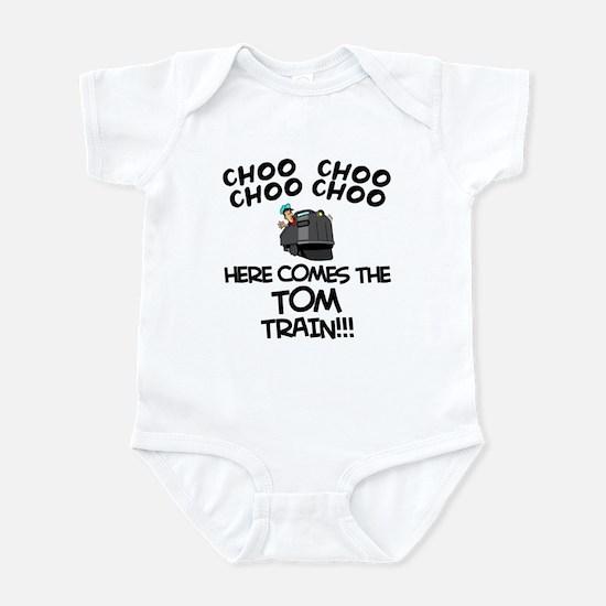 Tom Train Infant Bodysuit