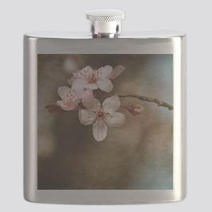 cherry blossom flowers Flask