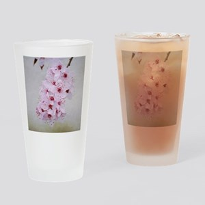 cherry blossom flowers Drinking Glass