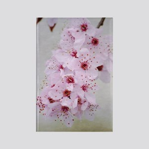 cherry blossom flowers Rectangle Magnet