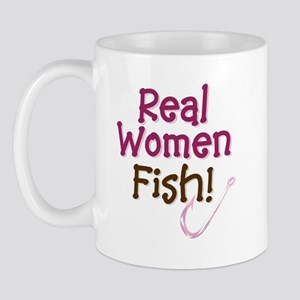 Real Women Fish Mug