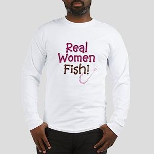 Real Women Fish Long Sleeve T-Shirt