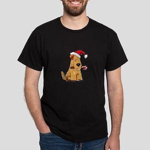 Wheaten Holiday Joy Dark T-Shirt
