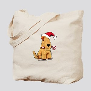 Wheaten Holiday Joy Tote Bag