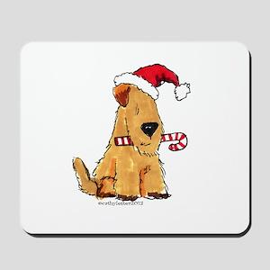 Wheaten Holiday Joy Mousepad