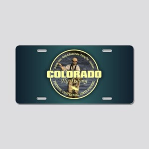 Colorado Fly Fishing Aluminum License Plate