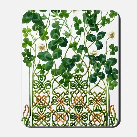 Celtic Shamrock Mousepad