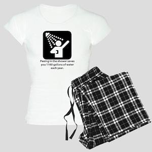 Peeing in the Shower Women's Light Pajamas
