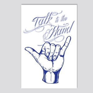 talk to the hand 2 Postcards (Package of 8)