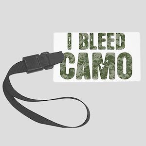 I Bleed Camo (digi) Large Luggage Tag