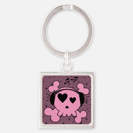 ms_stadium_hell_h_front Square Keychain