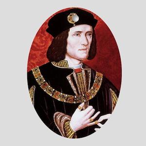 Richard III Oval Ornament