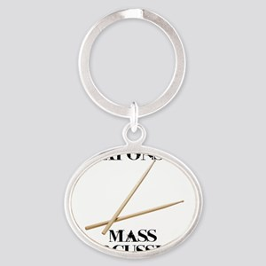 Weapons of Mass Percussion Oval Keychain