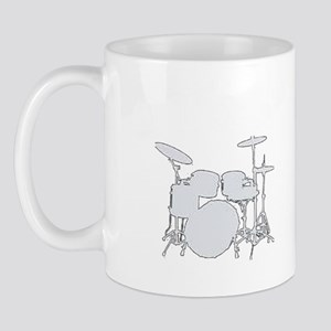 Id Rather Be Playing My Drums Mug