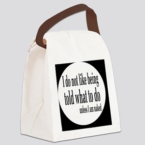 nakedbutton Canvas Lunch Bag