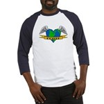 Love Your Mother Earth Day Tattoo Baseball Jersey
