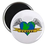 Love Your Mother Earth Day Tattoo Magnet, 10