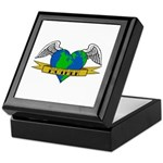 Love Your Mother Earth Day Tattoo Keepsake Box