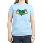 Love Your Mother Earth Day Tattoo Women's Tee