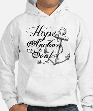 Hope Anchors the Soul Heb. 6:19 Jumper Hoody