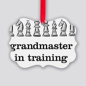 Grandmaster in training Picture Ornament