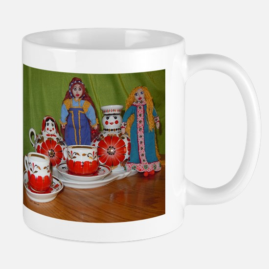 Russian Doll Tea Time Mug