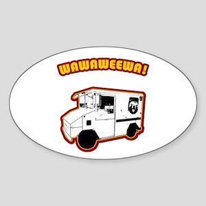 Wawaweewa Oval Sticker