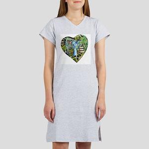 Live Love Paint Women's Nightshirt