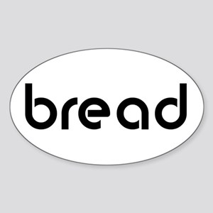 bread Oval Sticker