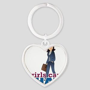Female CEO Heart Keychain