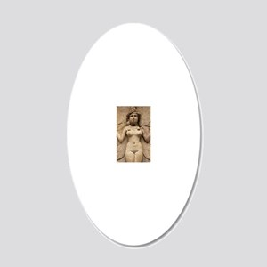 Lilith 20x12 Oval Wall Decal