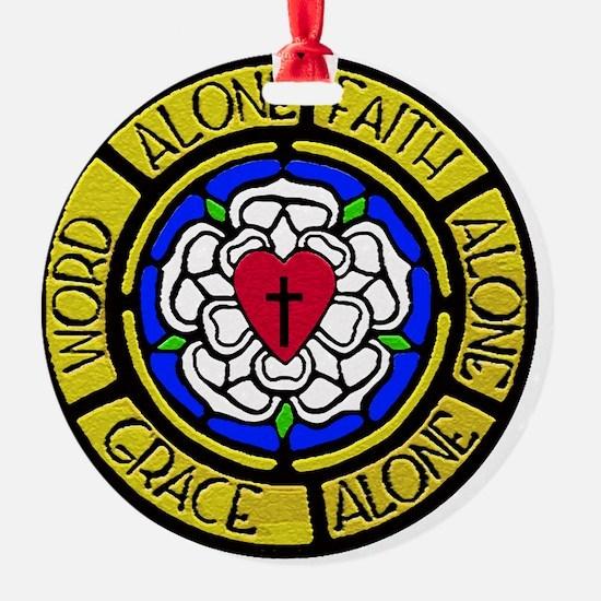 Grace-Faith-Word Wall Art Ornament