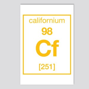 Californium Postcards (Package of 8)