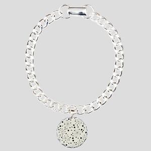 Stylish Pattern Charm Bracelet, One Charm