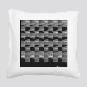 The Hammer Square Canvas Pillow