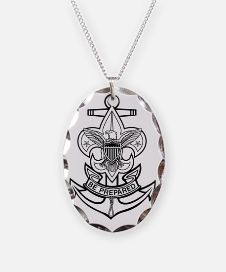 Sea Scout First Class Anchor Necklace