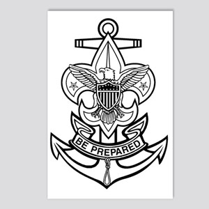 Sea Scout First Class Anc Postcards (Package of 8)