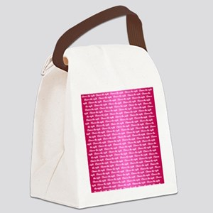 CTR - Dual Multi Pink Canvas Lunch Bag