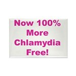 Chlamydia Free Rectangle Magnet (10 pack)