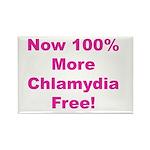 Chlamydia Free Rectangle Magnet
